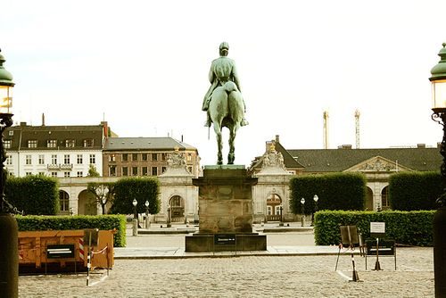 Christiansborg Slot Copenhagen Parliament