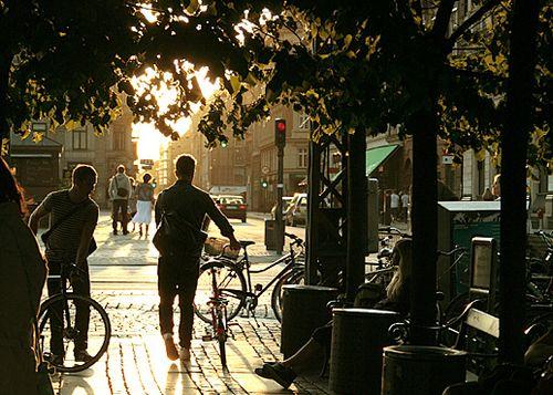 Bikers Kongens Nytorv Copenhagen