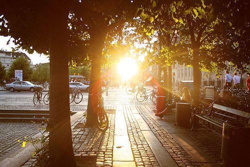 Kongens Nytorv Copenhagen Sunset