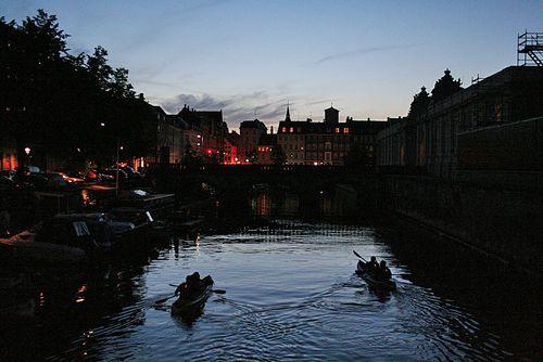 Frederiksholms Kanal Copenhagen Canal