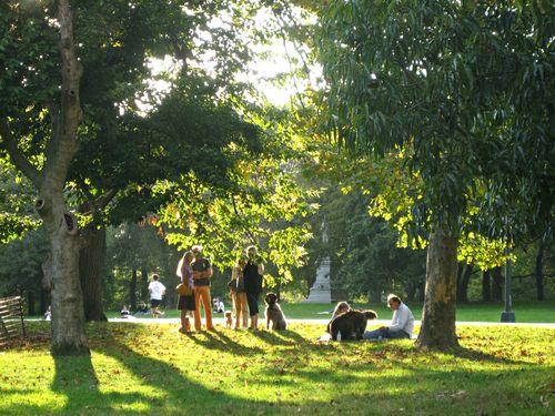 Central park sunday 100409