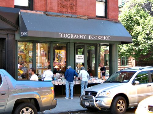 Biography bookshop new york city west village 11th st bleecker st