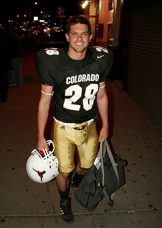Josh koll football gear uniform