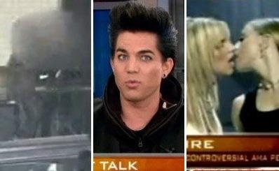 Adam lambert interview kissing a man on american music awards