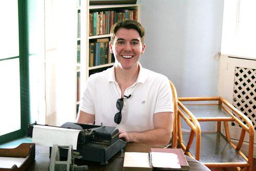 09 josh h ernest hemingway typewriter