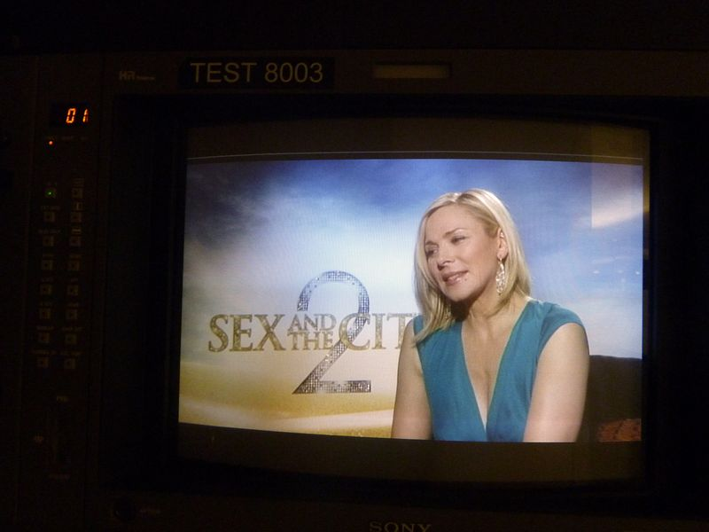 Kim cattrall sex and the city 2 interview