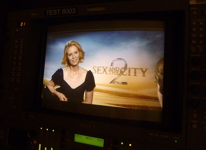 Cynthia nixon sex and the city 2 interview