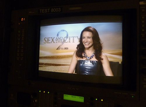 Kristin davis sex and the city 2 interview
