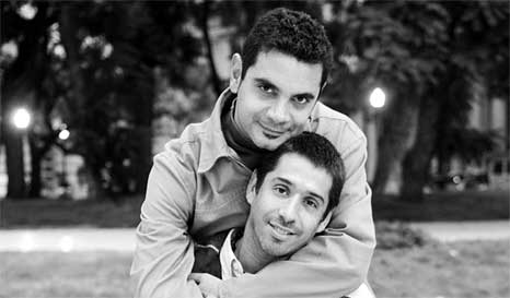José María Di Bello and Alex Freyre first gay couple married in Argentina