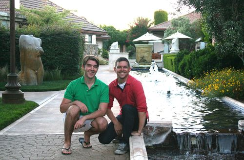 01 Josh and Josh in Yountville CA